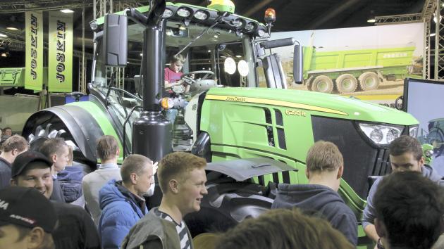 Importører tror ikke på traktormesse i Fredericia...
