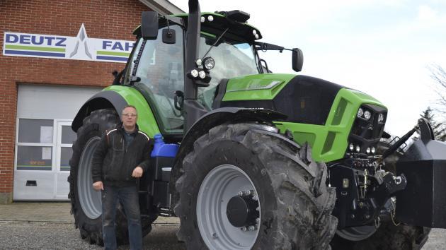 Nye mærker bringer ung maskinforretning fremad | LandbrugsAvisen