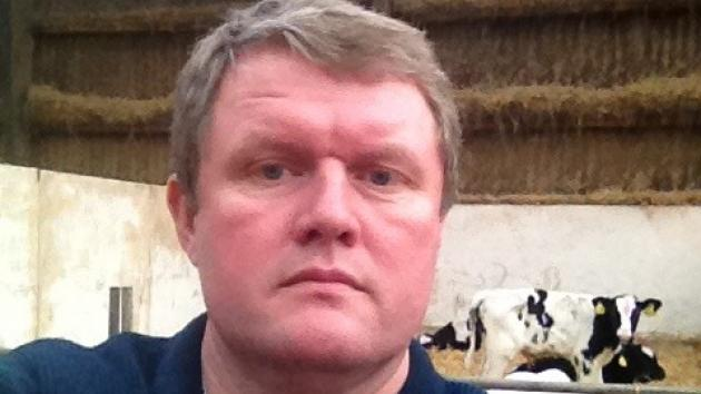 Lasse Olsen, formand for Danske Slagtekalveproducenter