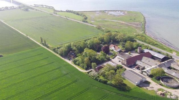 Ø med gård til salg: 39 mio. kr.   Landbrugsavisen