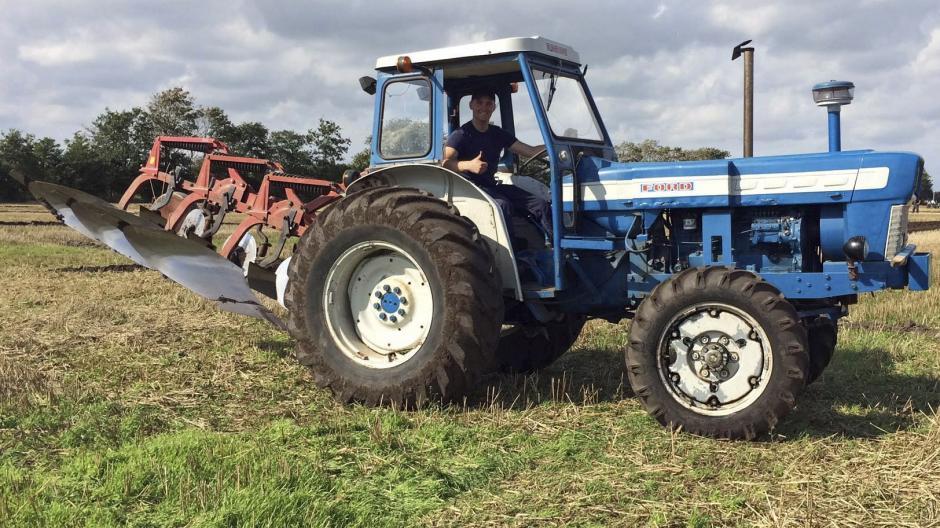 ford traktor til salg