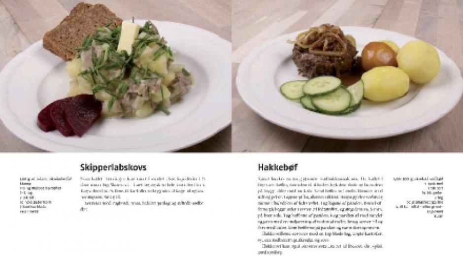 det danske landkøkken bog