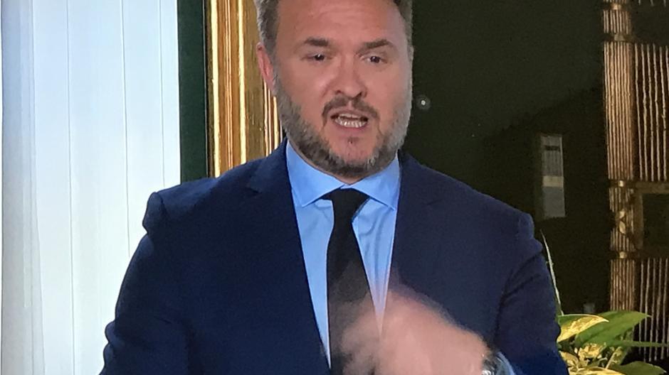 Klimaminister Dan Jørgensen (S)
