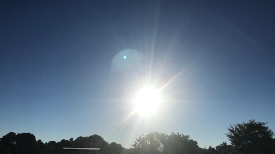 sol vejr tørt