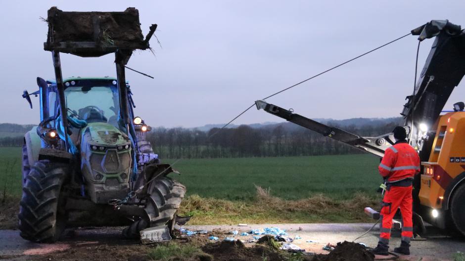 traktorulykke