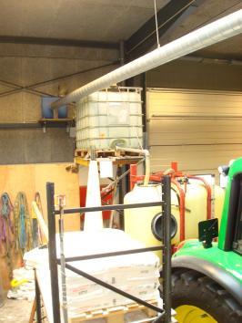 Troels Detlefsen deltager i konkurrencen Idéjagten med sin idé til hvordan man let kan fylde en marksprøjten, vandkarret til kalvene eller noget helt tredje. Fx i forbindelse med at blande saltvand til glatførebekæmpelse