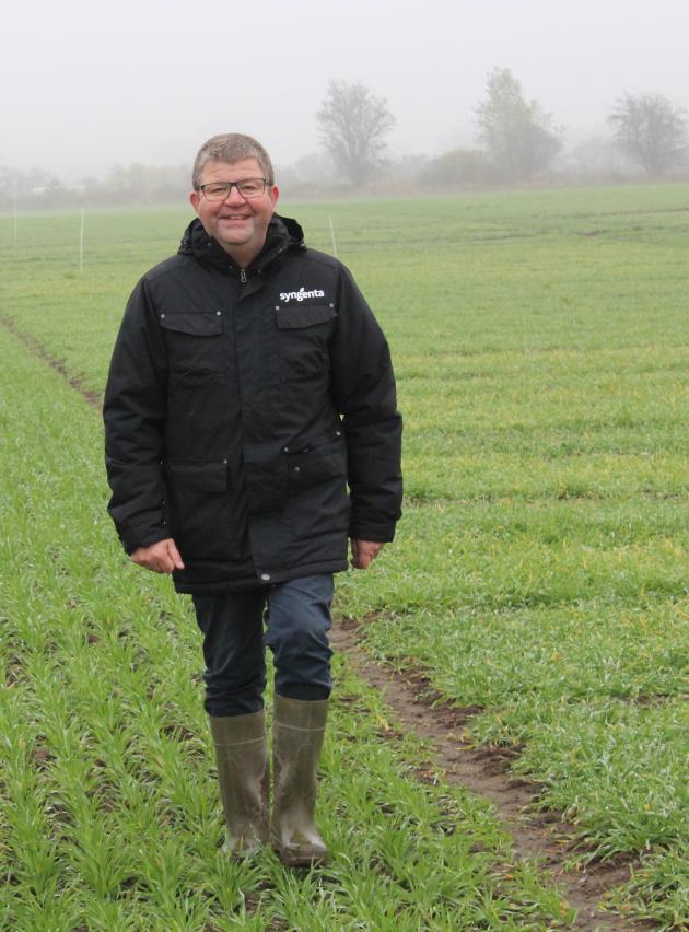 Mogens Steenholt Mogensen, Sales & Field Technician, Syngenta