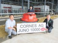 En japansk bedrift købte Lely Juno nr. 10.000