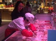 supermarked Kina køb af kød