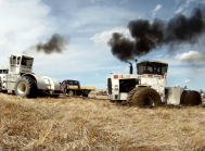 Big Bud-Traktorer er kørt fast hos Welker Farms Inc.