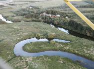 Her er det et luftfoto fra Varde Ådal.