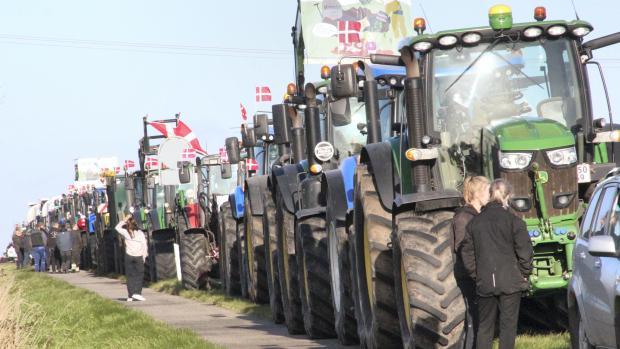 traktordemonstration minkavlere