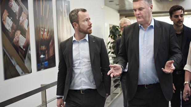 Jakob Ellemann Miljø- og fødevareminister danish crown slagteri jais valeur