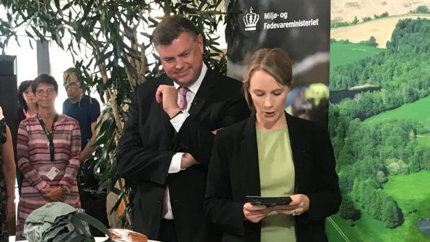 mogens jensen lea wermelin landbrug minister fødevarevareminister fødevare miljø miljøminister kvælstof udledning alger